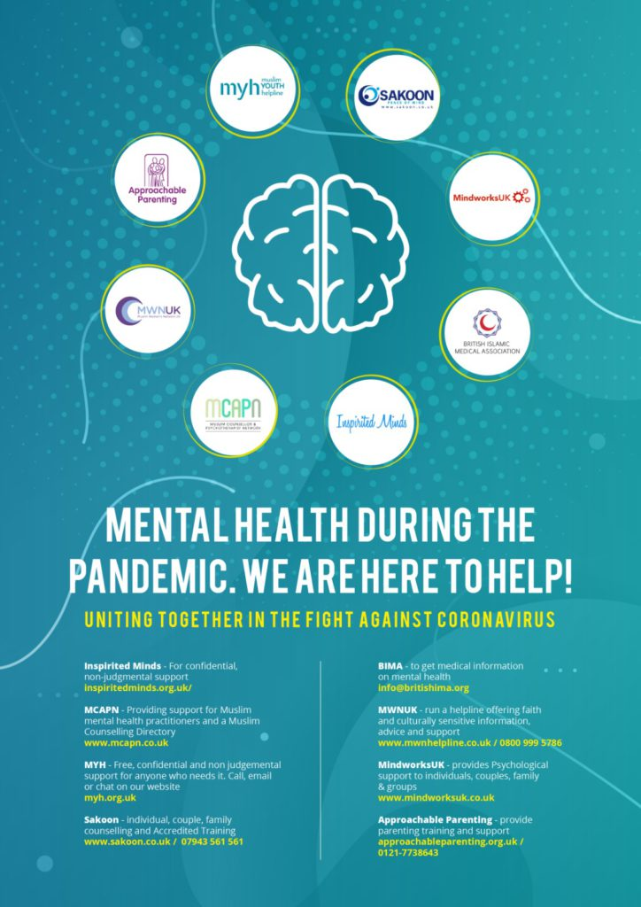 Muslim Mental health during the pandemic poster