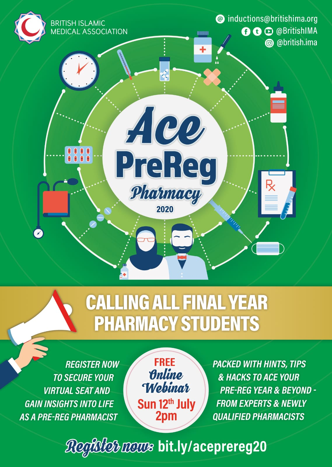 BIMA ACE PreReg Pharmacy 2020
